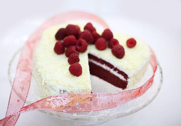 Рецепт                  Торт Красный бархат