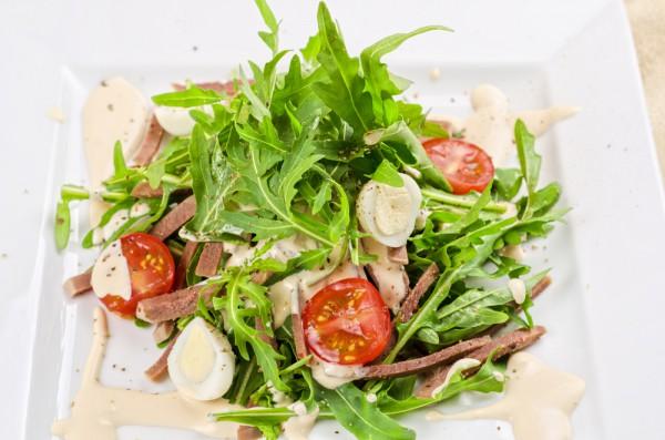 Рецепт                  Новогодние рецепты: Салат из языка