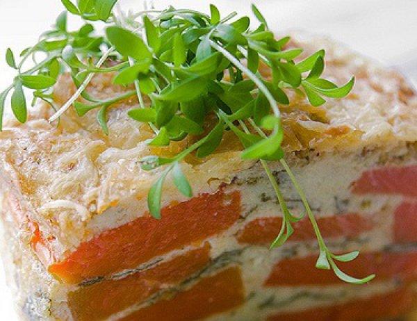 Рецепт                  Террин из тыквы со шпинатом