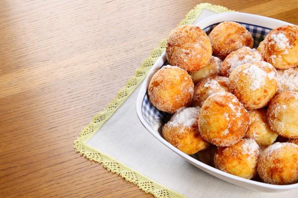 Рецепт                  Творожные пончики: Рецепт приготовления