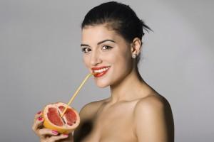 Грейпфрут поможет тебе быть стройной и красивой