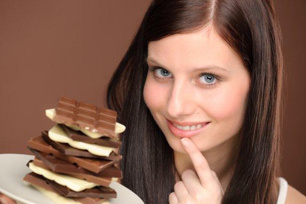 Шоколад снимает раздражение и возвращает душевное равновесие