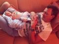 В Сеть попало первое фото сына Марата Башарова