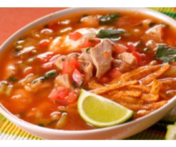 Рецепт                  Куриный суп с сухариками