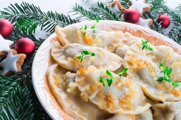 Рецепт                  Рождественский пост 2015-2016: Вареники с капустой и гречкой