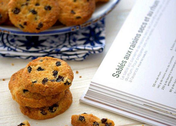 Рецепт                  Печенье с изюмом