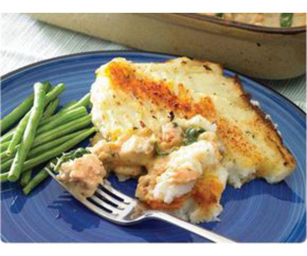 Рецепт                  Картофельно-рыбная запеканка