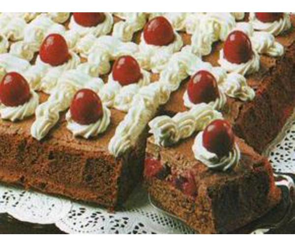 Рецепт                  Шоколадный торт с вишнями