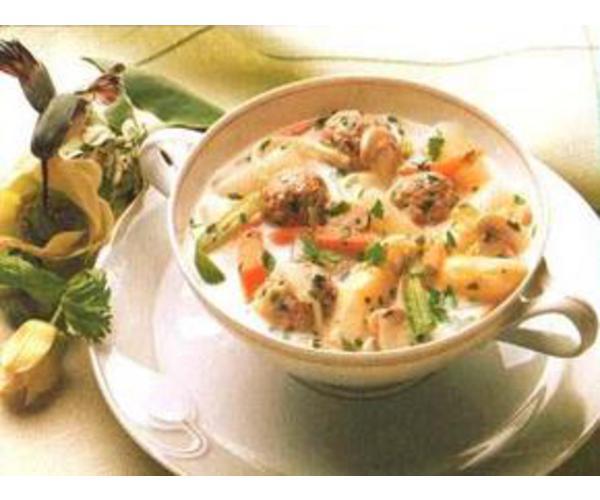 Рецепт                  Суп из спаржи