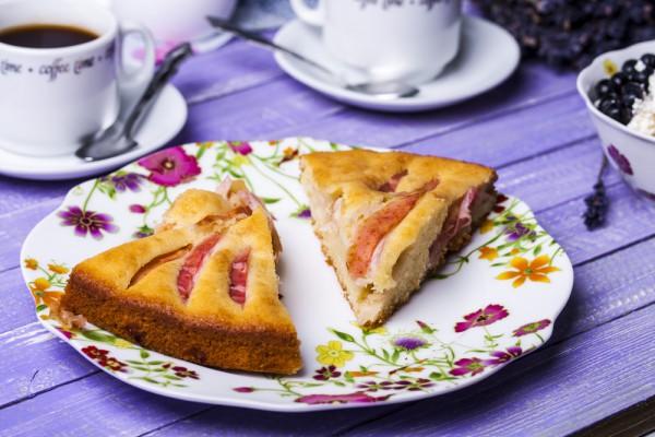 Рецепт                  Яблочный пирог: Простой рецепт
