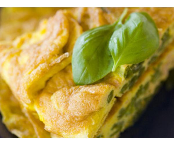 Рецепт                  Фриттата со стручковой фасолью и тунцом