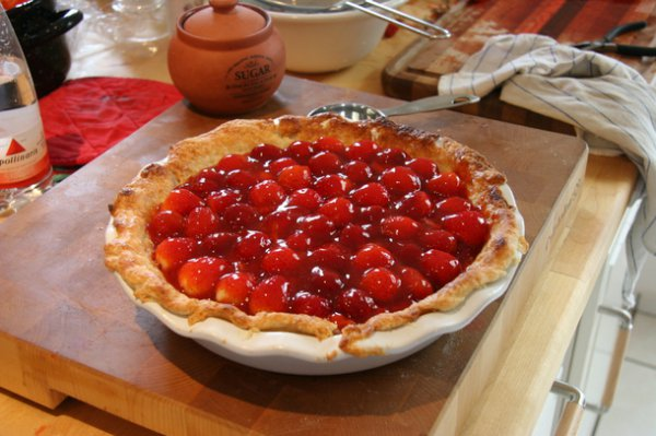 Рецепт                  ТОП-5 пирогов с клубникой