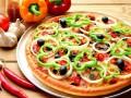 Постная выпечка: Пицца с чесноком и оливками