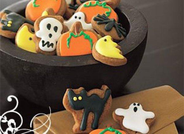 Рецепт                  Печенье на Хеллоуин с глазурью