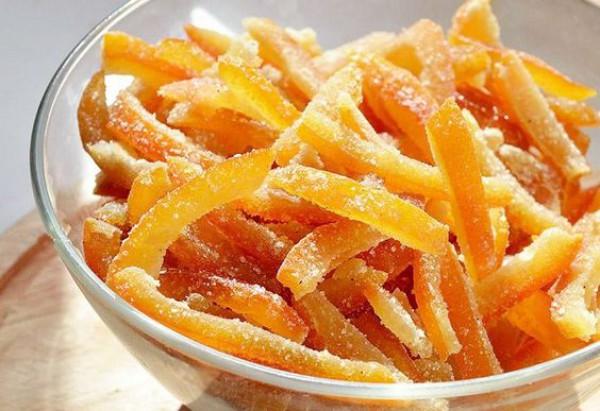 Как сделать цукаты из апельсина