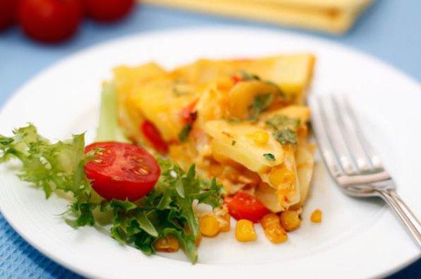 Рецепт                  Испанская тортилья с овощами