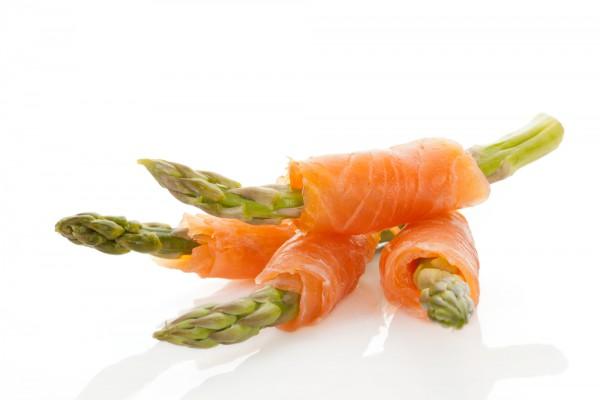 Рецепт                  Рецепты на День Валентина: Спаржа с лососем