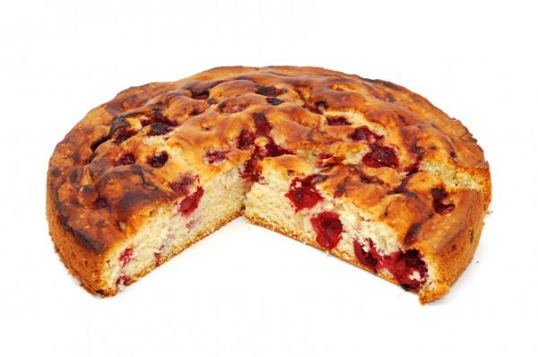 Рецепт                  Простой пирог с черешней