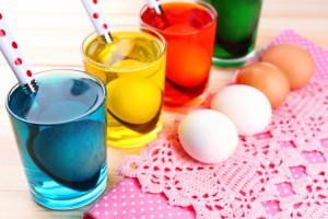 Пасха 2017: как красить яйца пищевыми красителями