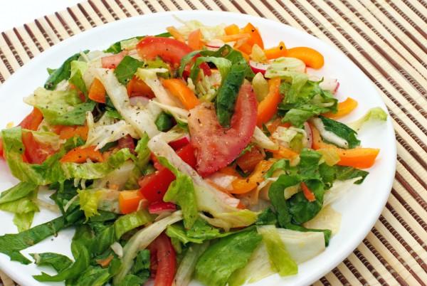 Рецепт                  Салат из помидоров и сладкого перца