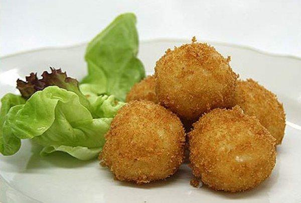 Рецепт                  Картофельные крокеты с грибами