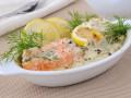 Рецепты на Новый год: Лосось с лимонно-сливочным соусом