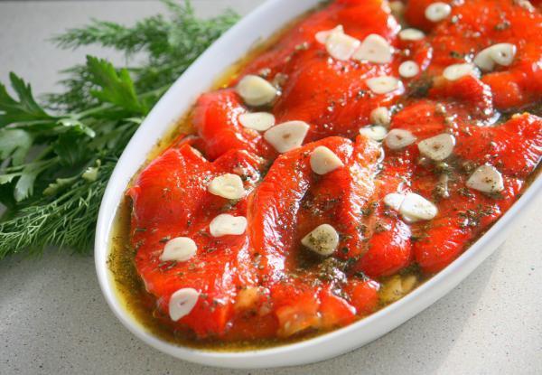 Рецепт                  Закуска из маринованного перца