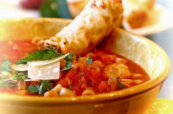 Рецепт                  Суп минестроне