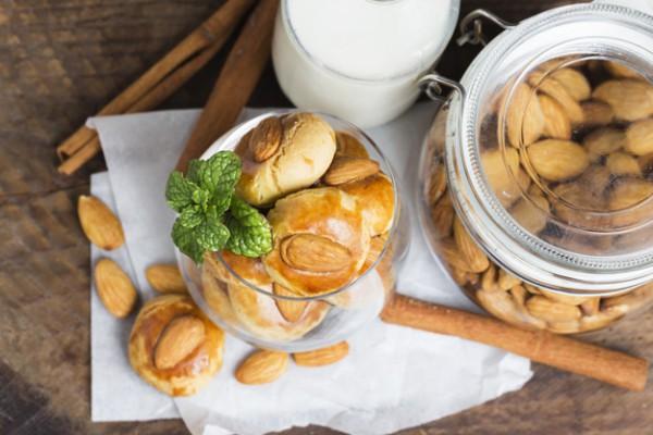 Печенья рецепт с миндалем