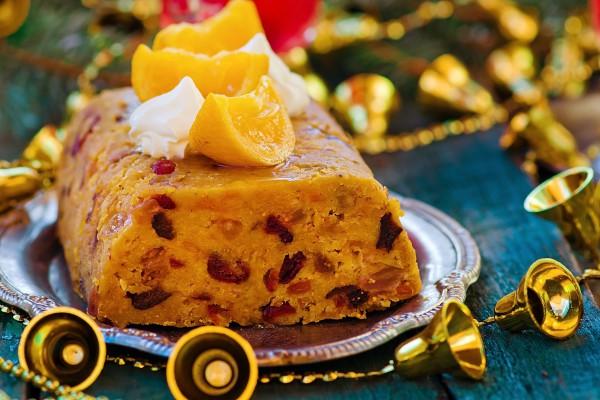 Рецепт                  Новогодние рецепты: Фруктовый пудинг