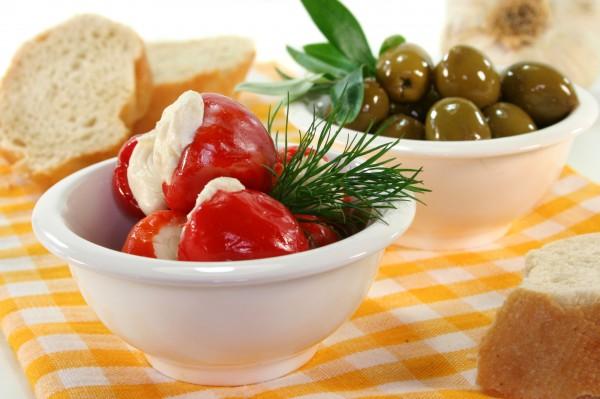 Маринованный перец со сливочным сыром — оригинальный рецепт на зиму