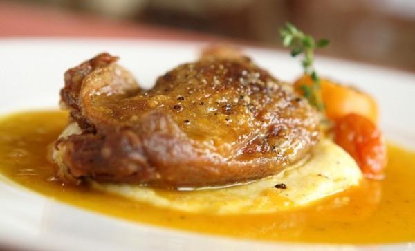 Рецепт                  Утиные ножки в мандариновом соусе