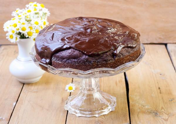 Рецепт                  Шоколадный торт из кабачков