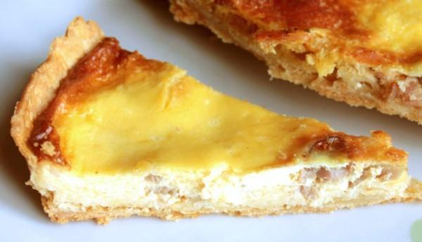 Рецепт                  Пирог с ветчиной и сыром