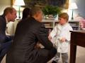 Двухлетний принц Джордж пожал руку президенту США