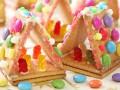 Рождественские домики из печенья