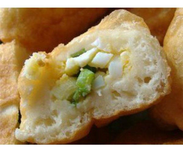 Рецепт                  Пирожки с яйцом и луком