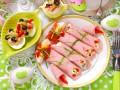 Пасхальные закуски из ветчины: ТОП-5 рецептов