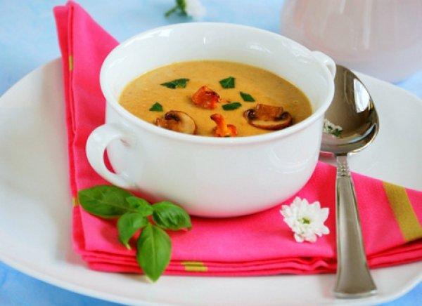 Рецепт                  Крем-суп с лесными грибами