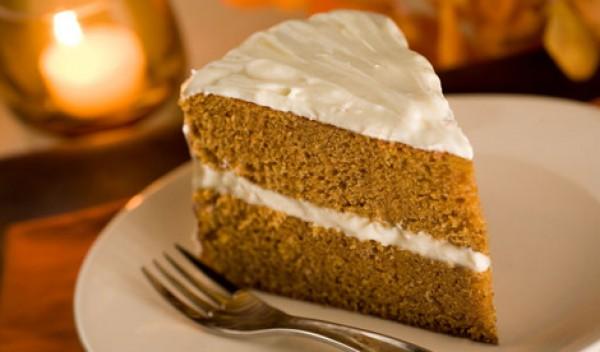 Рецепт                  Тыквенный торт со сметанным кремом