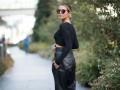 Как носить черный и не выглядеть мрачно