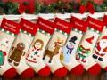 Новогодняя поделка своими руками: носок для подарков