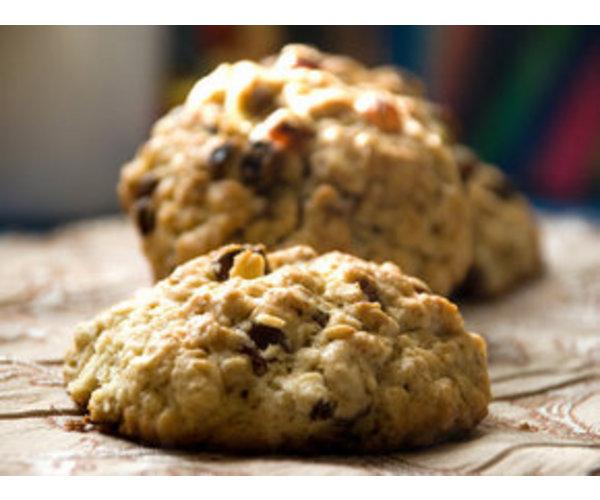 Рецепт                  Мягкое овсяное печенье с изюмом