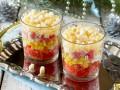 Крабовый салат с кукурузой и гренками