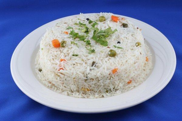 Рецепт                  Постный рис с кукурузой