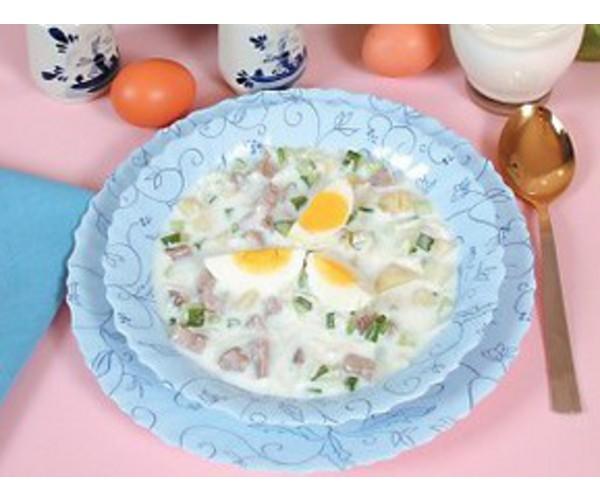Рецепт                  Окрошка