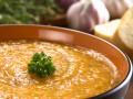 Постный суп-пюре из сладкого картофеля