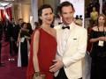 Бенедикт Камбербэтч пришел на Оскар с беременной супругой