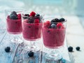 Густой смузи из летних ягод