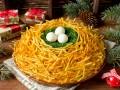 Как приготовить салат Гнездо глухаря на Новый год